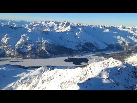 Switzerland panorama 3303m (10'000ft) [ENGADINA - CORVATSCH - ST. MORITZ]