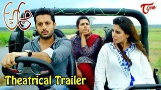 A Aa Movie Theatrical Trailer    Nithiin, Samantha