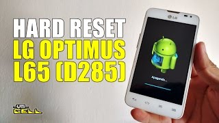 Hard Reset no LG Optimus L65 (D285) #UTICell