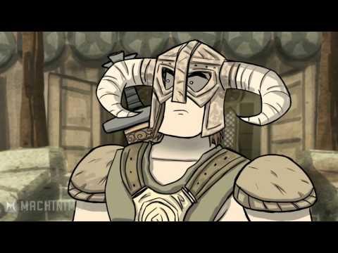 HISHE:Как Должен Был Закончиться Skyrim (rus)
