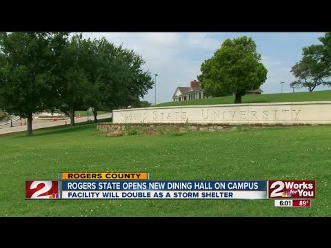 Rogers State University Dining Hall Doubles As Storm Shelter