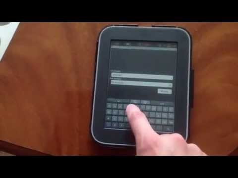 Nook simple touch root