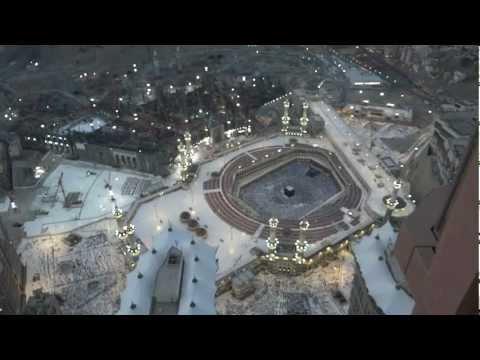azan-e-magrib in masjid al haram (full HD)