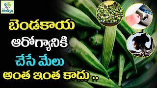 "BENEFITS OF OKRA"" For Skin, Diabetes, Hair and Health - Mana Arogyam Telugu Health Tips"