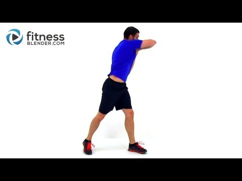 Cardio Kickboxing Workout with Ab Exercises - 37 Minute Fat Melting Routine with Fitness Blender Image 1