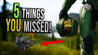5 Things YOU missed in the HALO INFINITE Trailer!