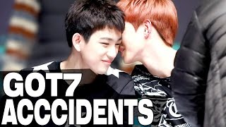 GOT7 ACCIDENTS and FUNNY MOMENTS