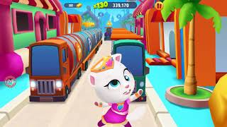 Learn Colors My Talking Tom Gold Run Colours for Kids Animation Education Cartoon Compilation #254