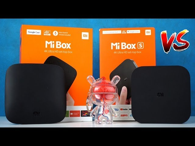 Сравнение ТВ приставок Xiaomi Mi Box 3 и Mi Box S
