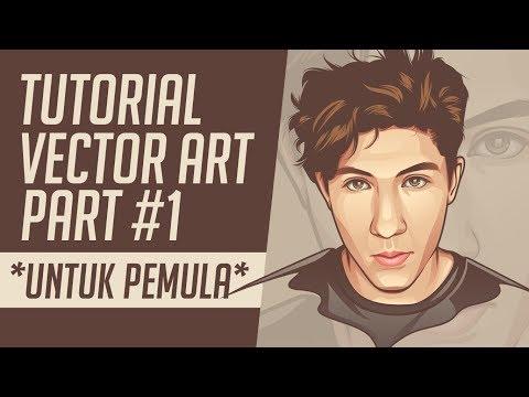 Tutorial Cara Membuat Vector Mata - Tutorial Vector Part #1 (UNTUK PEMULA)