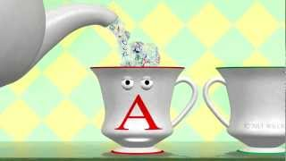 Alphabet Teapot & Teacups - Learn ABC