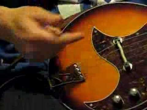 Kentucky 300e electric mandolin