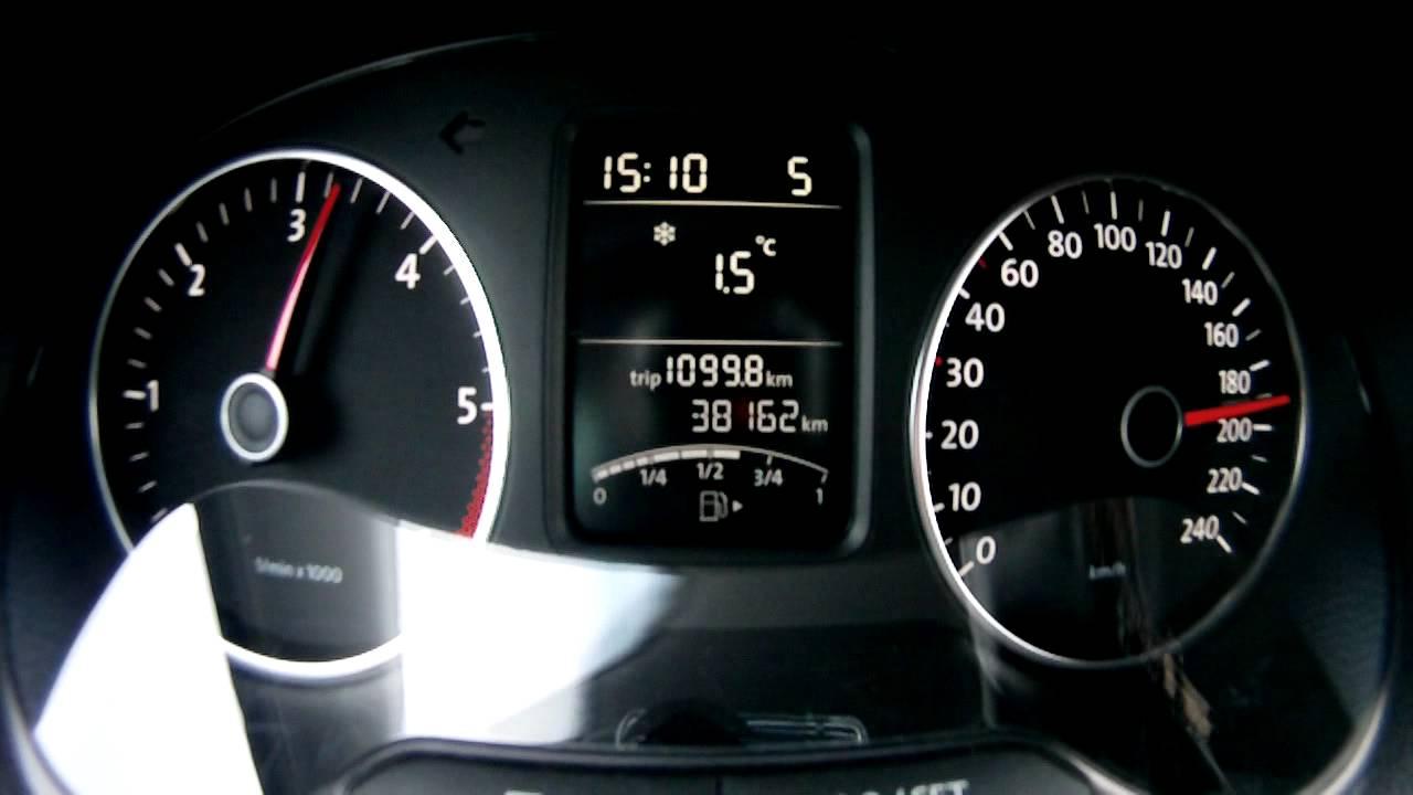 VW Polo V TDI 1.6 || 66kW/90PS || 0-200 km/h || 0-100 km/h in 10,8 sek. - YouTube