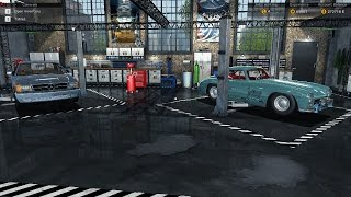 Car Mechanic Simulator 2015 Mercedes-Benz DLC restoration