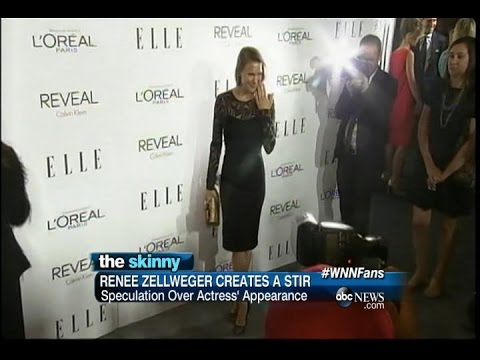 SKINNY: Renee Zellweger Creates a Stir