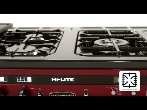 Rangemaster Hi Lite 110 Dual Fuel Range Cooker Overview