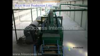 Rock Wool Production Line, Mineral Wool/ Slag Wool/ Basalt Wool/ Rockwool Production Line