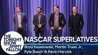 NASCAR Drivers Read Superlatives About Jimmy Fallon