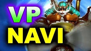 NAVI vs VP - AMAZING GAME! - MEGAFON WINTER CLASH DOTA 2
