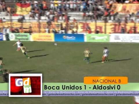 Boca Unidos 1-0 Aldosivi Mar del Plata