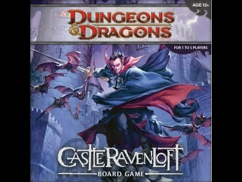 Board Game Review: Dungeons and Dragons Castle Ravenloft