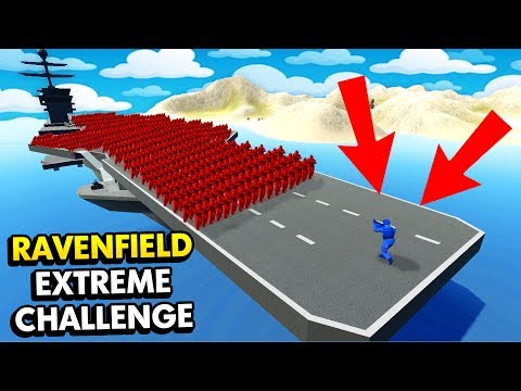 1 UNIT EXTREME CHALLENGE IN RAVENFIELD! (Ravenfield Funny Gameplay)