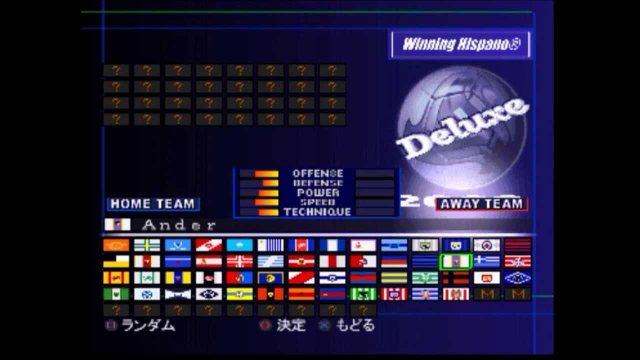 Winning Eleven 2002 Ps1 Winning Eleven 2002-2003