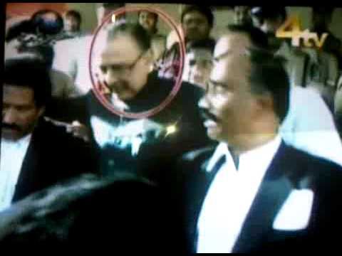 zahid ali khan chief editor siasat  in nampally courts Hyderabad