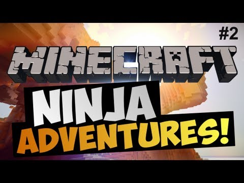 Minecraft | Ep.2 | High Ninja Adventures (Испытания)