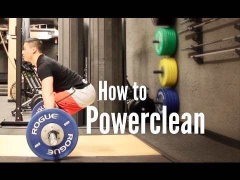 How to Powerclean for Crossfit Image 1