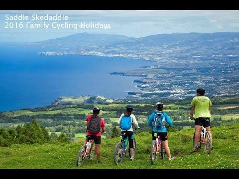Saddle Skedaddle 2016 Family Cycling holidays