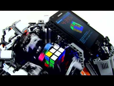 Кубик Рубика: робот побил рекорд человека прикол, любовь, жесть, ржака, порно