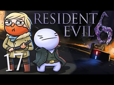 Resident Evil 6 /w Cry! [Part 17] - A Slippery Slope