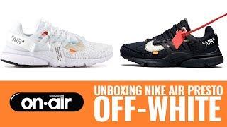 SBROnAIR Vol. 84 - Unboxing Nike Air Presto X OFF-White  #piranomeuair