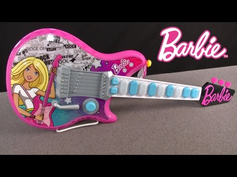 Barbie My Rockstar Guitar from Just Play
