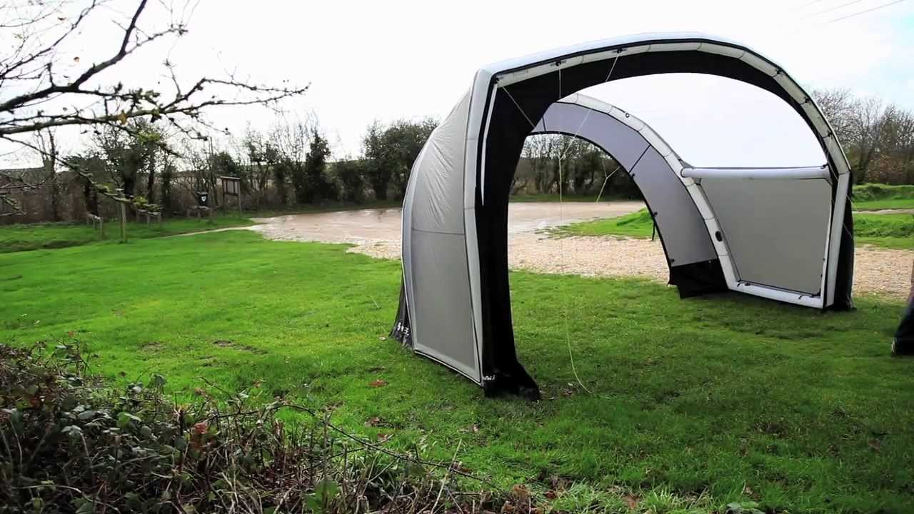 Inflatable Vw T5 Tent Gybe Design Youtube