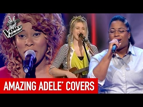 AMAZING 'ADELE' Blind Auditions | The Voice Global