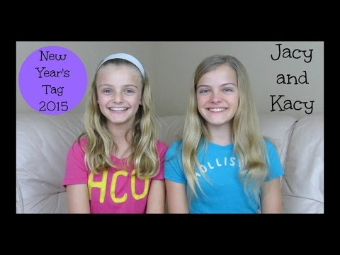 New Year's Tag ~ Q & A ~ Jacy and Kacy