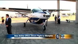Airline begins offering direct flights from Knoxville to Memphis