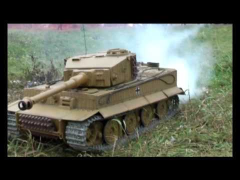 Большие модели танков, R/C TANKS, small war. AirStrike, tank battle 1:6