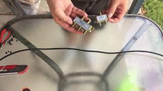 How to Install an F Type Splitter for Digital TV