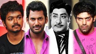 Vishal clears the Controversy reg Sivaji & Vijay