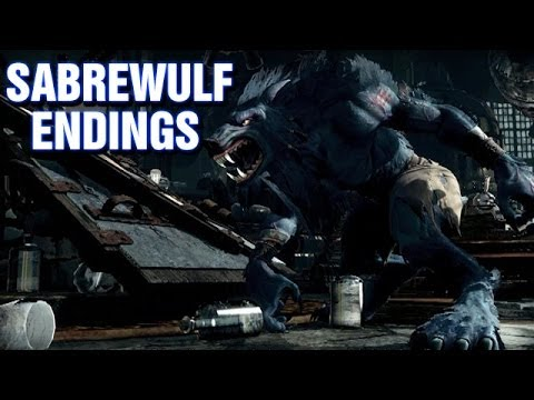All Sabrewulf Endings - Killer Instinct