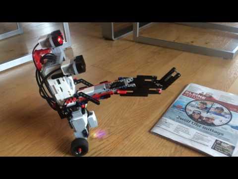 Mindstorms balancing robot