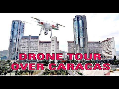 Paseo sobre Caracas con Drone - Espectacular
