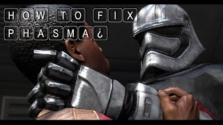 How To Fix Phasma in Star Wars: The Force Awakens [SFM]