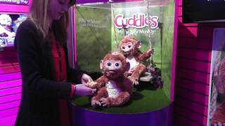 My Giggly Monkey Cuddles and Furreal Friends
