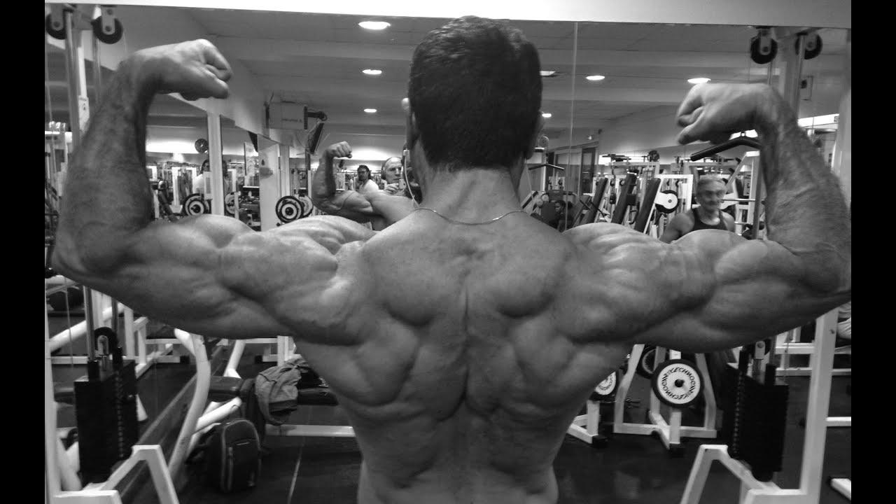 Musculation: séance prise de masse pour le dos - YouTube