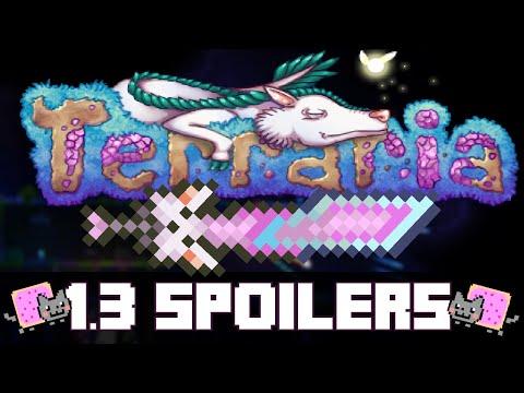 Terraria 1.3 Update Spoilers! - Nyan Cat Sword, Wormholes And More! (update Trailer) video