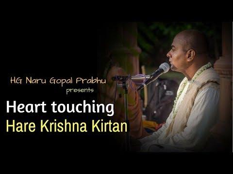 Hare Krishna Heart Touching Kirtan by  Naru Gopal Prabhu